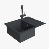 Franke Maris Sink MRG 611 62 Fragranite Onyx