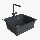 Franke Maris Sink MRG 610 58 Fragranite Onyx