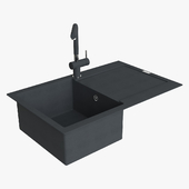 Franke Maris Sink MRG 611 78 Fragranite Onyx