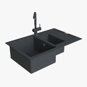 Franke Maris Sink MRG 651 78 Fragranite Onyx