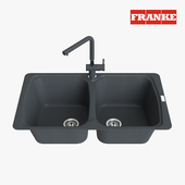 Franke Aneta Sink AZG 620 Fragranite Onyx