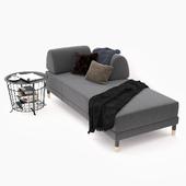 Sofa bed Ikea Flottebo.