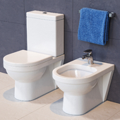 Villeroy and Boch Toilet and Bidet