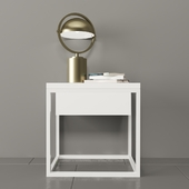 Moonlight Table with Drome table lamp
