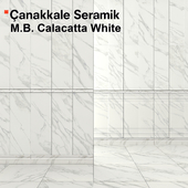 Tile Marmoles Brillo Calacatta White