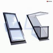 Dormer window (balcony)