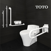 toto toilets CW923SGUR and Accessible equipment