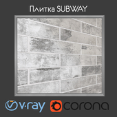 Плитка Cifre SUBWAY PEARL