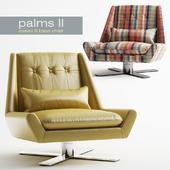 Palms II - Swivel X Base Chair