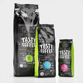 TASTY COFFEE coffee packaging