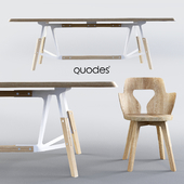 Table and chair Quodes