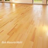 Parquet board Barlinek Floorboard - Beech-Masuria-Molti.