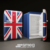 Stand-alone refrigerator SMEG FAB10RUJ