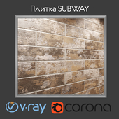 Плитка Cifre SUBWAY 2 вида