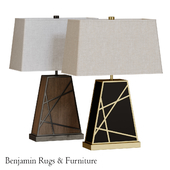 Robert Abbey Michael Berman Bond Tapered Table Lamp.