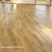 Parquet board Barlinek Floorboard - Oak Askania Molti.