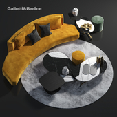 Gallotti & Radice Sofa Set