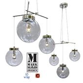 Модель SICILY, подвесной светильник от компании LAMPGUSTAF, Швеция.