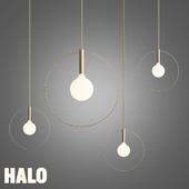 Halo pendant chandelier