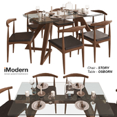 Table and chairs Story and Osborn IModern