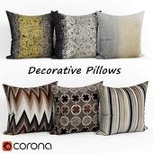 Decorative pillows set 094