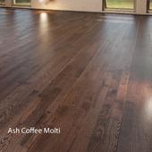 Parquet board Barlinek Floorboard - Decor Line - Ash Coffee Molti