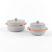 Soapstone Copper Pots