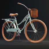 Huffy Nel Lusso Womens Cruiser Bike with Basket