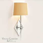 Visual Comfort Silver Etoile Sconce