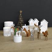 Christmas decor set