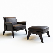 Minotti glover chair