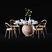 Porada Chair and Table
