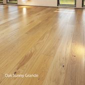 Parquet board Barlinek Floorboard - Pure Line - Oak Sunny Grande
