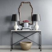 Jessica Walmsley interiors - decorative set