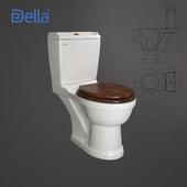 Boston Oak toilet bowl