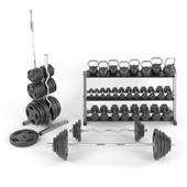 Набор весов для тренажерного зала от BodySolid