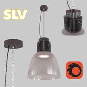 SLV PARA BOWL LED, прозрачный/refract