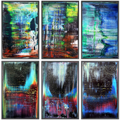 Paintings abstract | set 79
