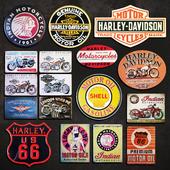 Metal Signs №10. Motorcycles