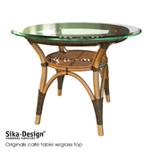 Sika Design Originals dining table w / glass top