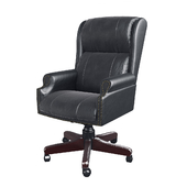 Armchair Barrington Black Swivel Chair