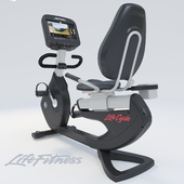 Exercise Bike Life Fitness Platinum Club Lifecycle PCSR Discover SI