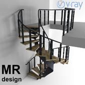 Лестница от студии MRdesign