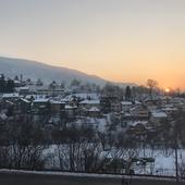 Sunset time, Sarajevo