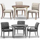 Snappy Dining Chair, Eda Dining Table