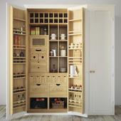 Kitchen cupboard organizer