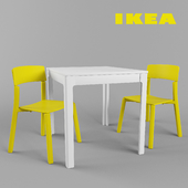 IKEA Dining set for VANGSTA / YAN-INGE
