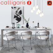 Set of Calligaris (New York Chair)