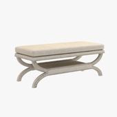 Coaster Fine Furniture fully upholstered bench