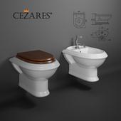 Suspended toilet, bidet, Cezares KING PALACE